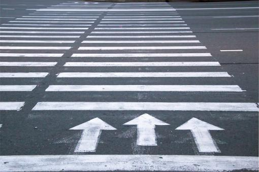 Zebra crossing - Free Stock Photo