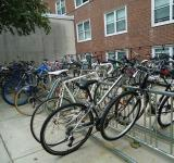 Free Photo - Bikes in a bike rack