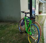 Free Photo - Green and Pink Bicycles