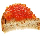 Free Photo - sandwich with fish roe