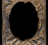 Free Photo - Antique Frame - Rusty Dragons