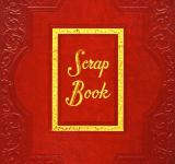 Free Photo - Vintage Scrapbook Cover - Red
