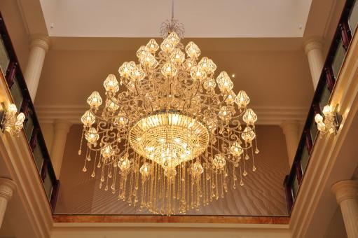 Chandelier Lighting - Free Stock Photo