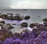 Free Photo - Boulders Lavender Beach - HDR
