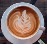 Free Photo - Coffee Art Leaf Design