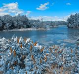 Free Photo - Thousand Islands Scenery - Wintry Blue