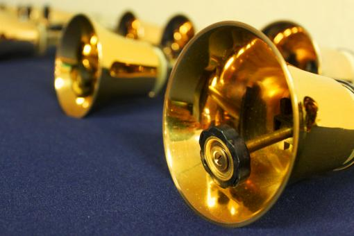 Golden bells at a church - Free Stock Photo