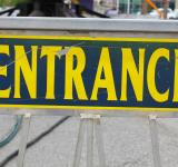 Free Photo - Entrance sign