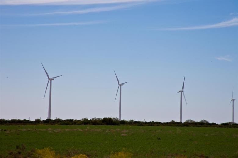 Free Stock Photo of Wind Turbines Created by Jared Davidson