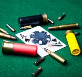 Free Photo - Bullets and ace of spades