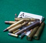 Free Photo - Bullets with ace of spades
