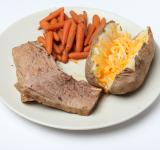 Free Photo - Pot Roast, Carrots and Baked Potato