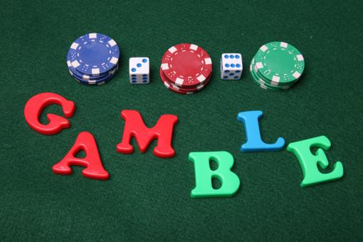 Gamble letters - Free Stock Photo
