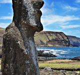 Free Photo - Moai Statue in Easter Island