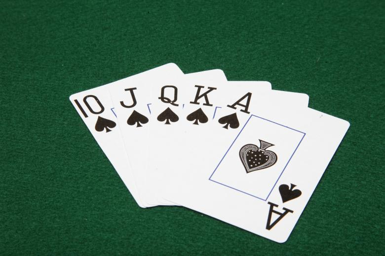 Free Stock Photo of Royal Flush Created by Jared Davidson