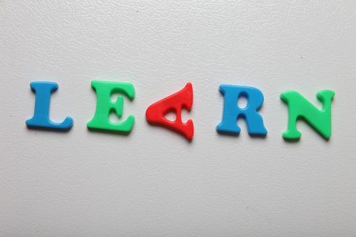 Letters spelling Learn - Free Stock Photo