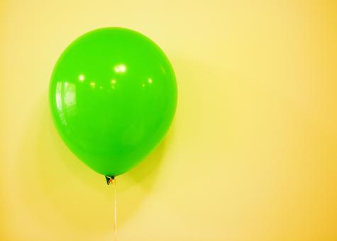 Green balloon - Free Stock Photo