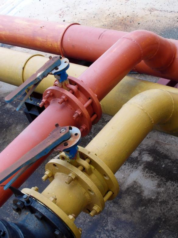 Free Stock Photo of Industrial Pipeline Created by Ian L
