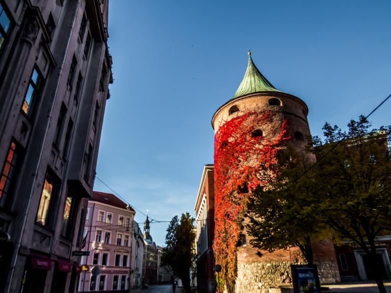 Free Stock Photo of Powder Tower, Riga Created by Janis Urtans