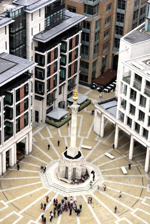 Free Stock Photo of Paternoster Square Created by Alsusha