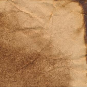Coffee Stained Paper Texture - Free Stock Photo