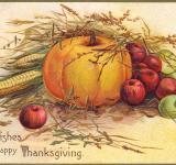 Free Photo - Antique Thanksgiving Greeting Card
