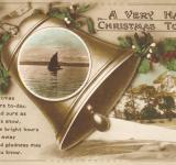 Free Photo - Vintage Christmas Card