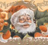 Free Photo - Antique Christmas Card