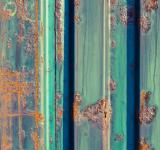 Free Photo - Blue Rusted Metal Texture
