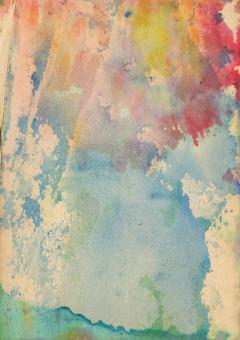 Color Stained Paper - Free Stock Photo