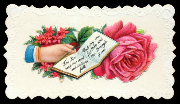 Antique Victorian Trade Card - Free Stock Photo
