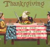 Free Photo - Antique Patriotic Thanksgiving Card