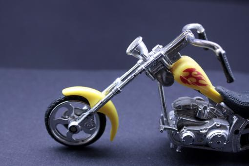Children toy motorcycle - Free Stock Photo