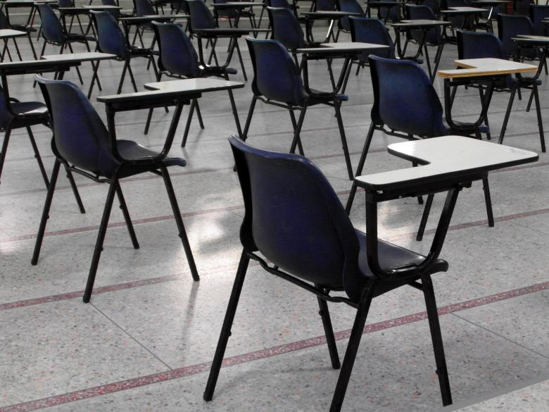 Free Stock Photo of Empty Exam Hall and Seats Created by Ivan