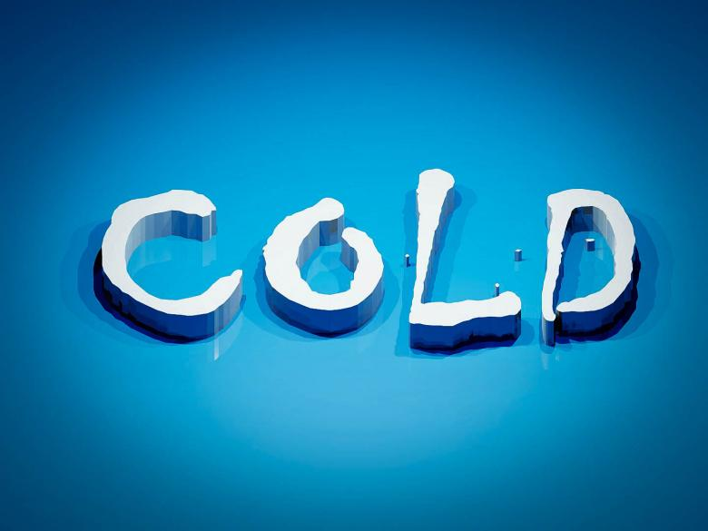 Free Stock Photo of Word Cold Created by Julieta Nuñez Chapa