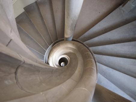 Rothenburg Spiral Stairs - Free Stock Photo