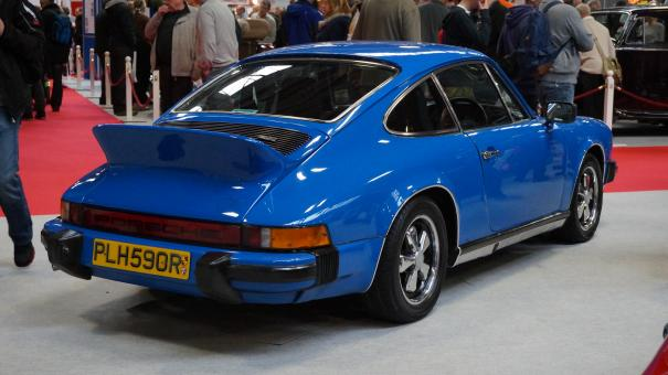 Blue Porsche 911 - Free Stock Photo