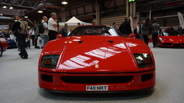 Red Ferrari F40 - Free Stock Photo