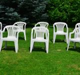 Free Photo - White chairs