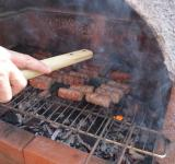 Free Photo - Grilling meat