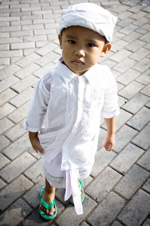 Free Stock Photo of Cute balinese boy Created by Merelize