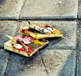 Free Photo - Traditional balinese offerings to gods