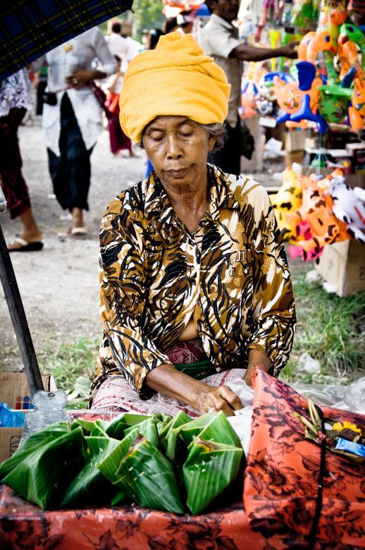 Free Stock Photo of street vendor selling food on the street Created by Merelize