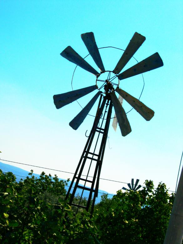 Free Stock Photo of Wind Mill Created by mrceviz