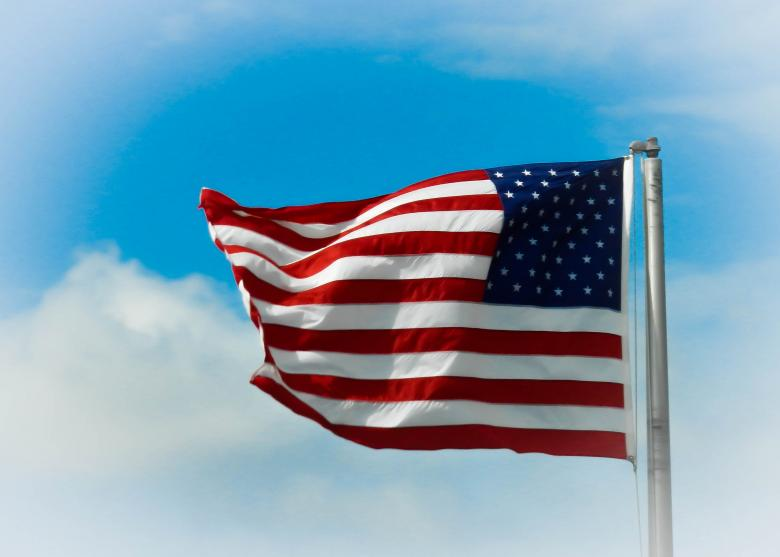Free Stock Photo of American flag Created by Julieta Nuñez Chapa