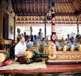 Free Photo - Men play traditional gamelan percussion