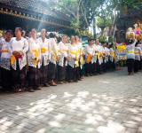 Free Photo - Bali ceremony in temple