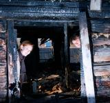 Free Photo - In the burned house