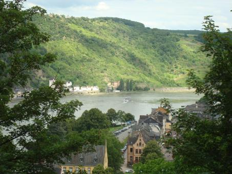 The Rhine river in Germany - Free Stock Photo