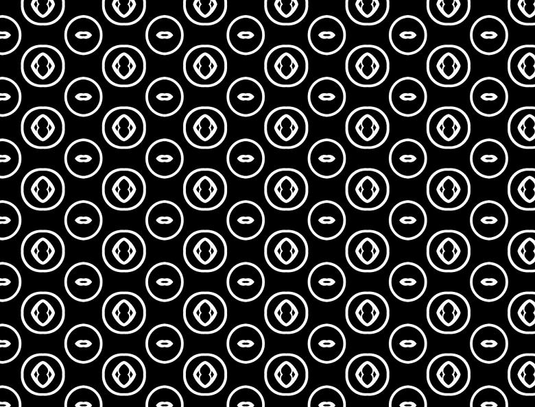 Free Stock Photo of Black and White Pattern Created by Katrena Patterson